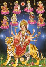 Ma Durga goddesses
