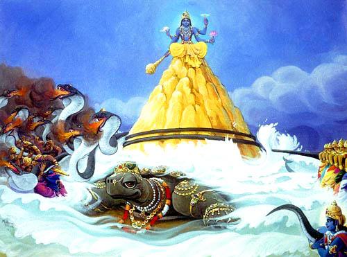 L'enseignement du Bouddha - Page 3 Vishnu-Kurma