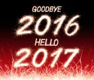 good bye 2016 hello 2017